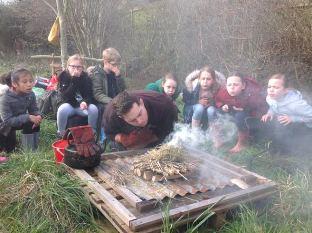 Forest school day 033