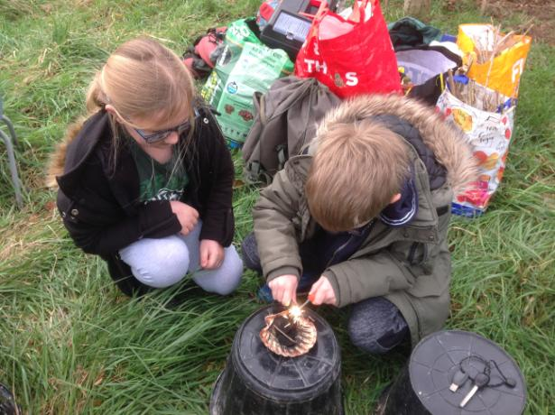 Forest school day 030