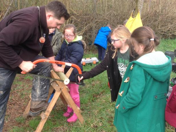 Forest school day 055